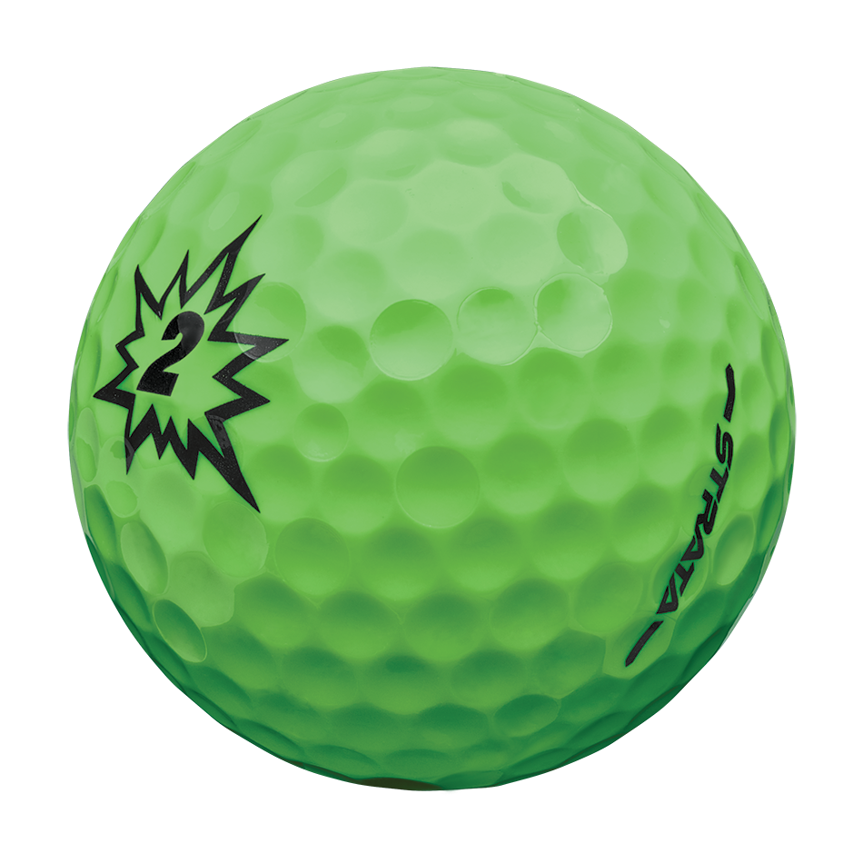 Strata Boom Multi-Color Golf Balls - View 3