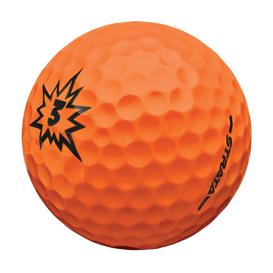 Strata Boom Multi-Color Golf Balls - View 4