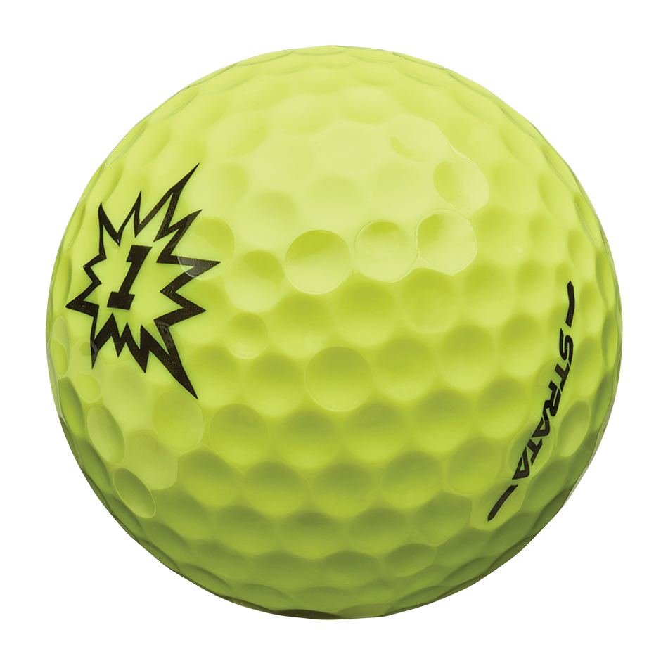 Strata Boom Multi-Color Golf Balls - View 5