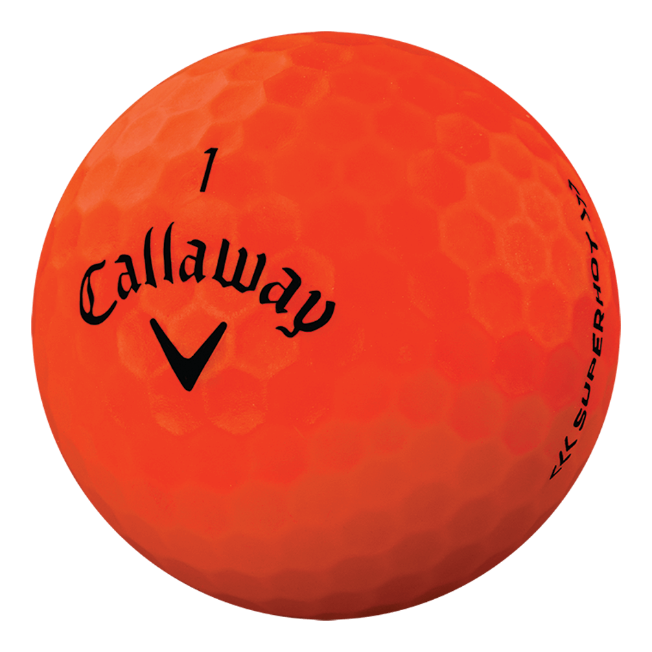 Superhot Bold 15-Pack Orange Logo Golf Balls - View 4