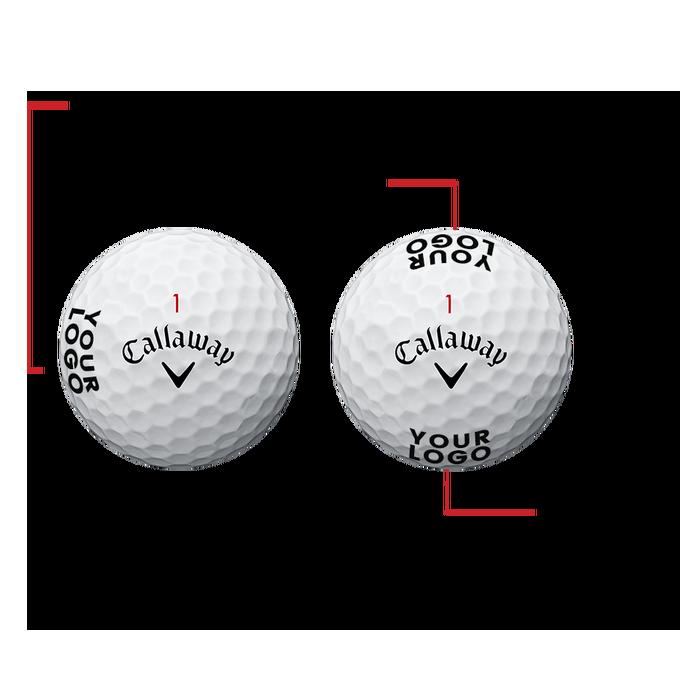 Supersoft Magna Logo Golf Balls - View 3