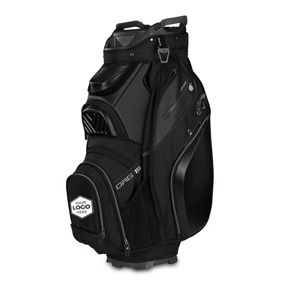 Org. 15 Logo Cart Bag - View 1
