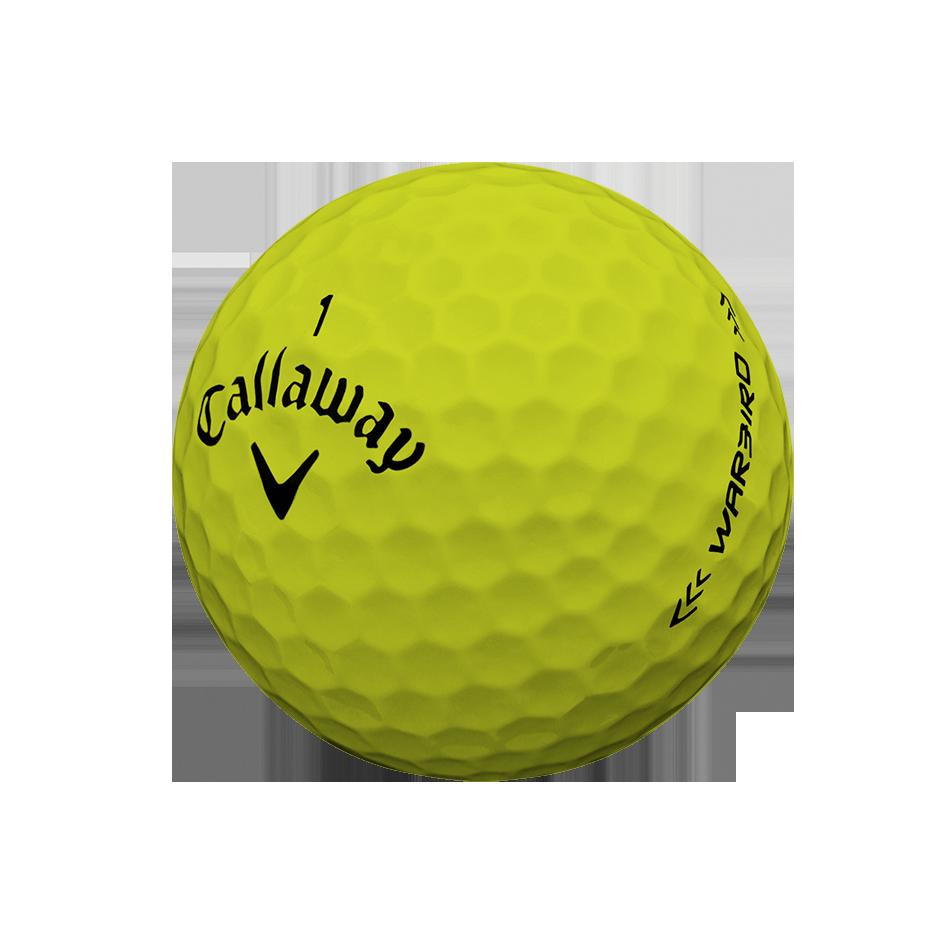 Warbird Yellow Logo Golf Balls - View 3