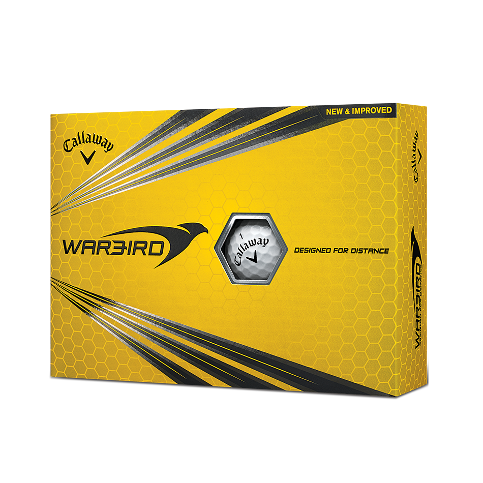 Warbird Golf Balls - View 1