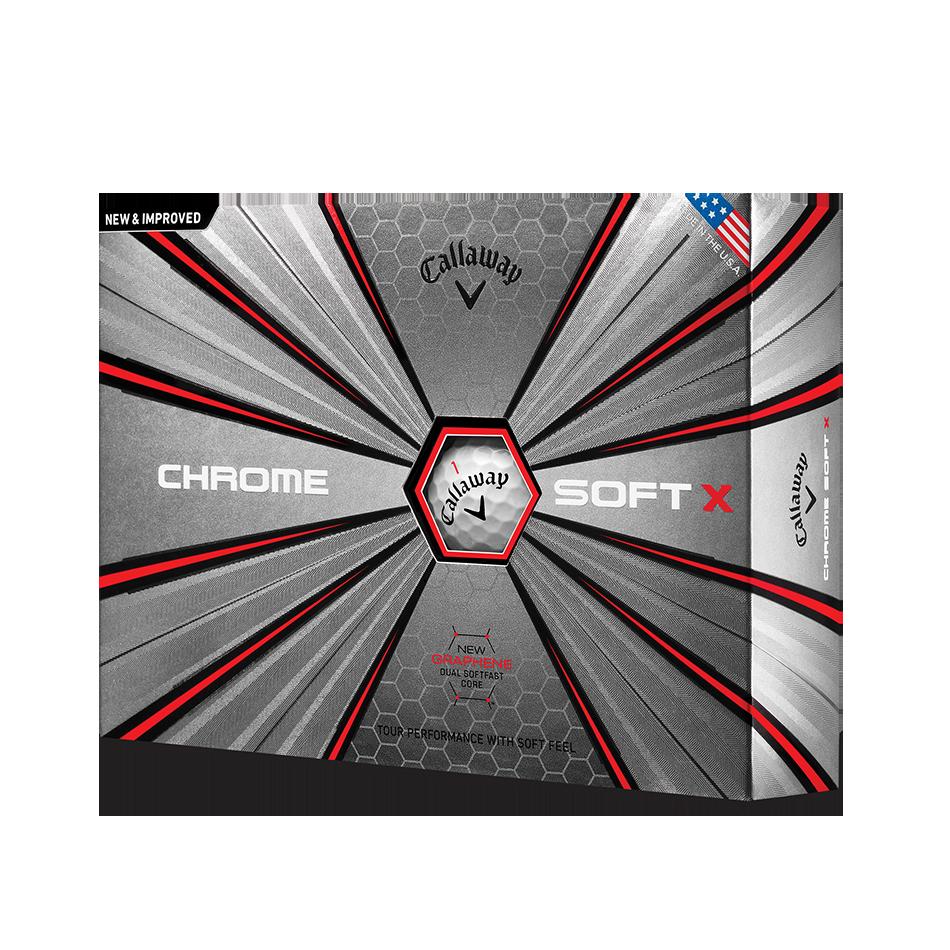 Chrome Soft X Golf Balls - View 1
