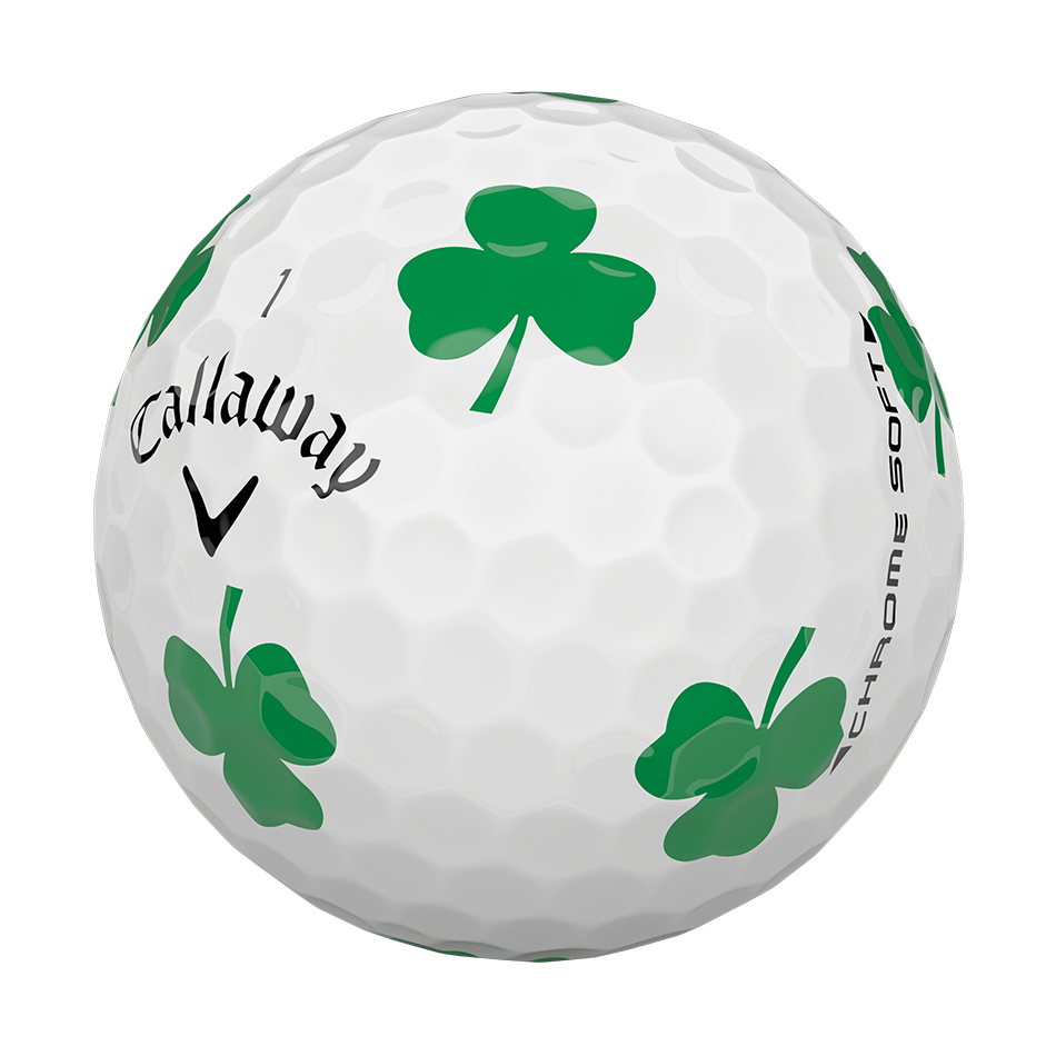 Chrome Soft Shamrock Truvis Golf Balls - View 4