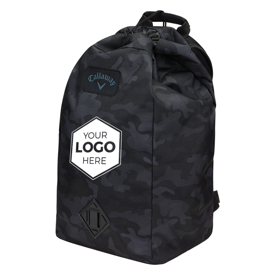 Clubhouse Logo Drawstring Backpack - View 4
