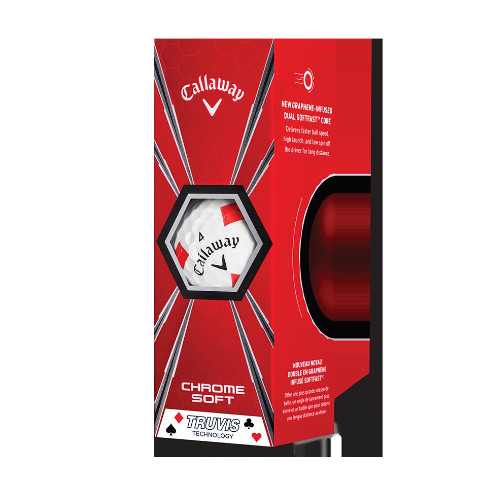 Chrome Soft Truvis Suits Golf Balls - View 5