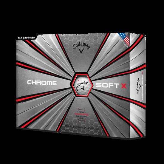 Callaway Golf | Chrome Soft | Men's Golf Balls | Official