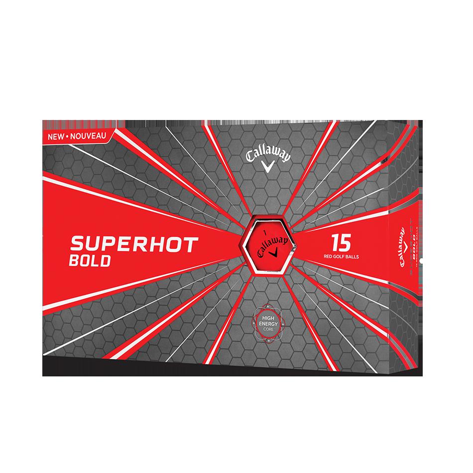 Callaway Golf Superhot Bold Matte Red 15-Pack Golf Balls - Callaway Golf Balls