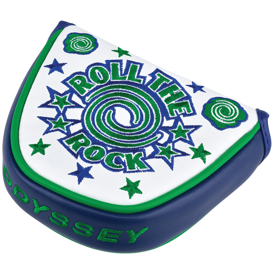 Odyssey Roll the Rock Mallet Headcover  - Odyssey Headcovers