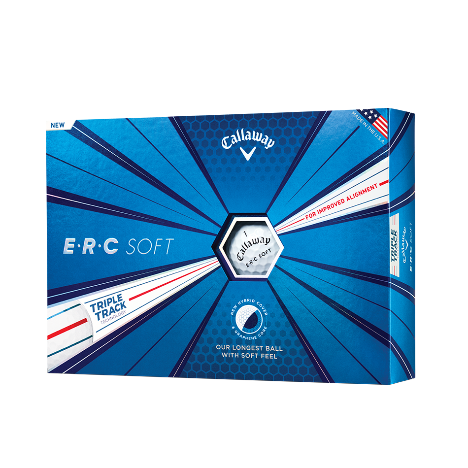 ERC Soft Golf Balls - View 1