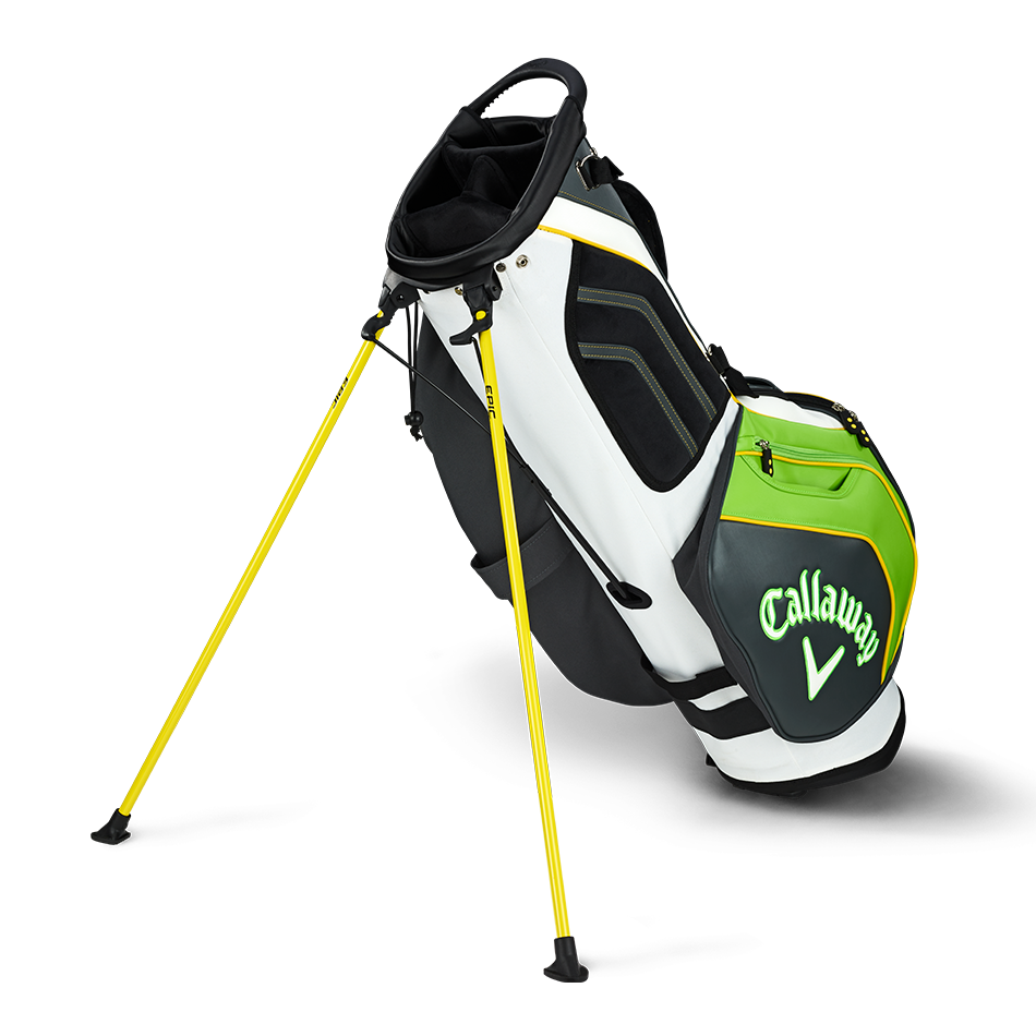 Epic Flash Staff Double Strap Logo Stand Bag - View 2