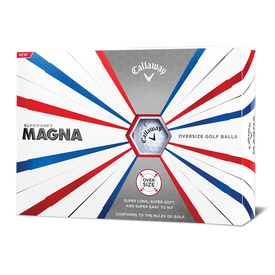 Supersoft Magna Logo Golf Balls - View 1