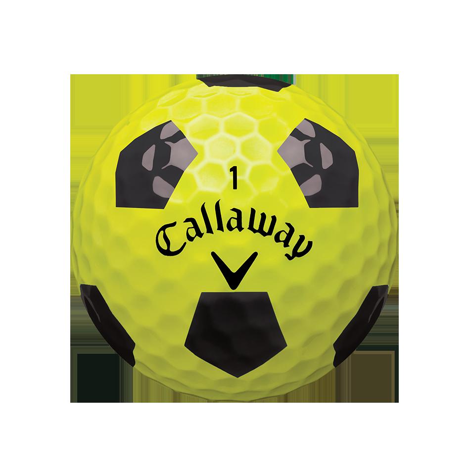 Chrome Soft X Truvis Yellow Golf Balls - View 2