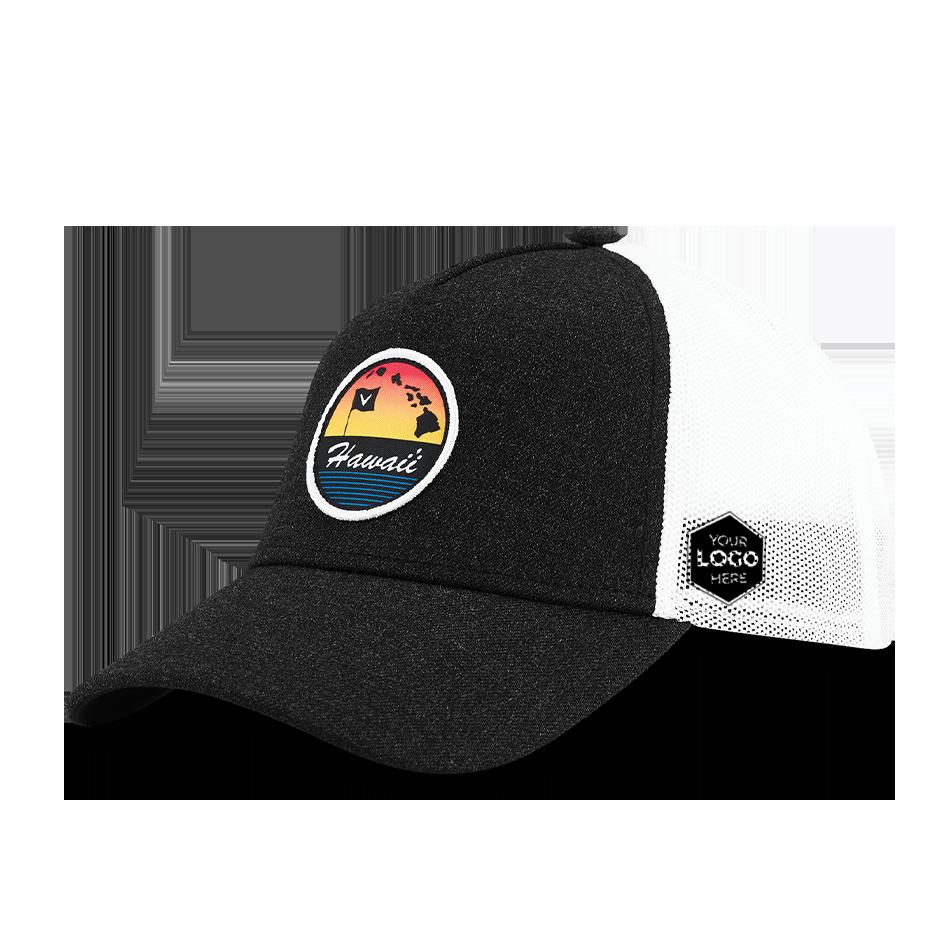 Hawaii Trucker Logo Cap - View 1