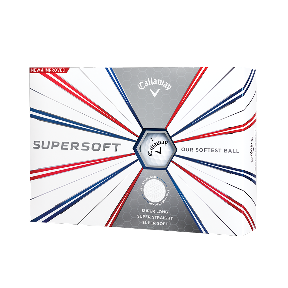 Callaway Supersoft Golf Balls - View 1