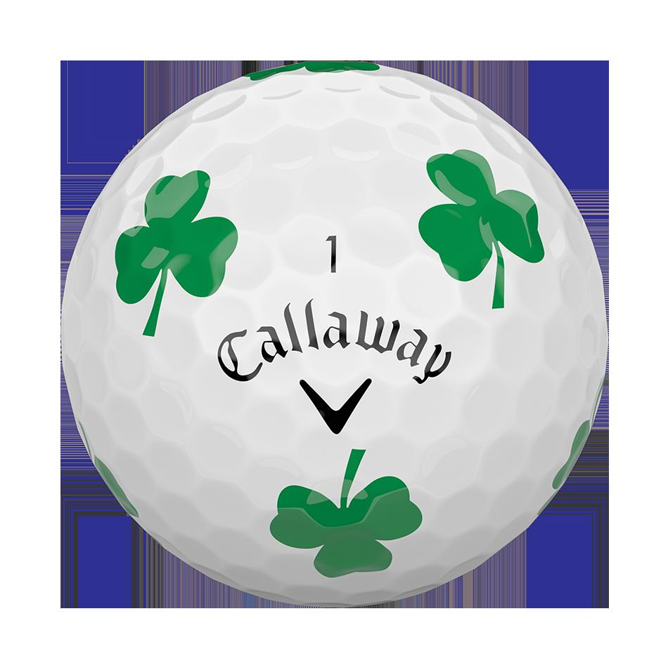 Chrome Soft Shamrock Truvis Golf Balls - View 3