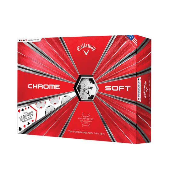 Chrome Soft Truvis Suits Golf Balls