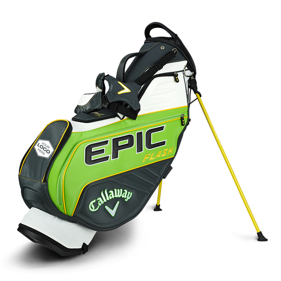 Epic Flash Staff Double Strap Logo Stand Bag