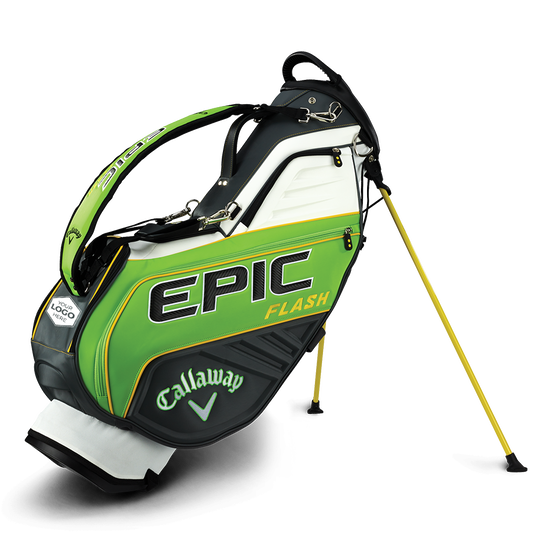 Epic Flash Staff Single Strap Logo Stand Bag