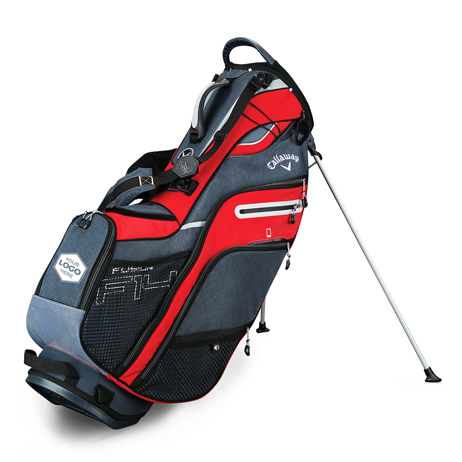 Fusion 14 Logo Stand Bag - Featured