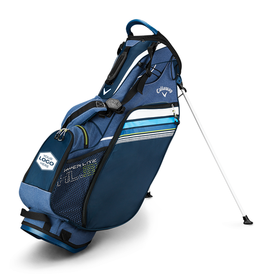 Hyper Lite 3 Double Strap Logo Stand Bag
