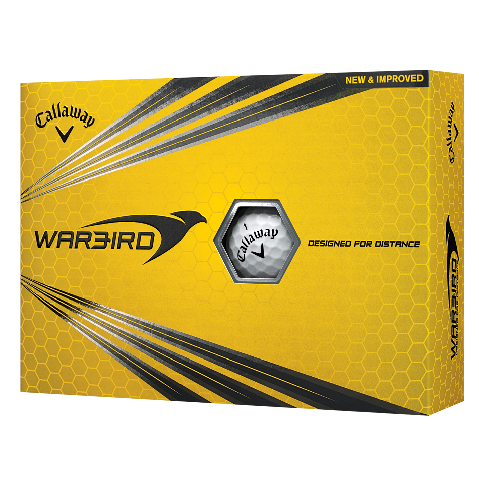 Warbird Logo Golf Balls - Featured