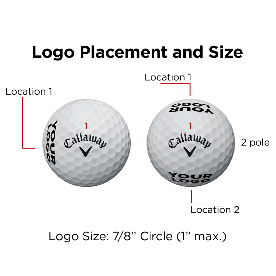 Warbird Logo Golf Balls - View 2