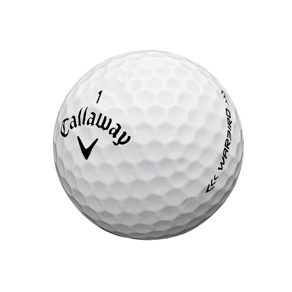 Warbird Logo Golf Balls - View 3