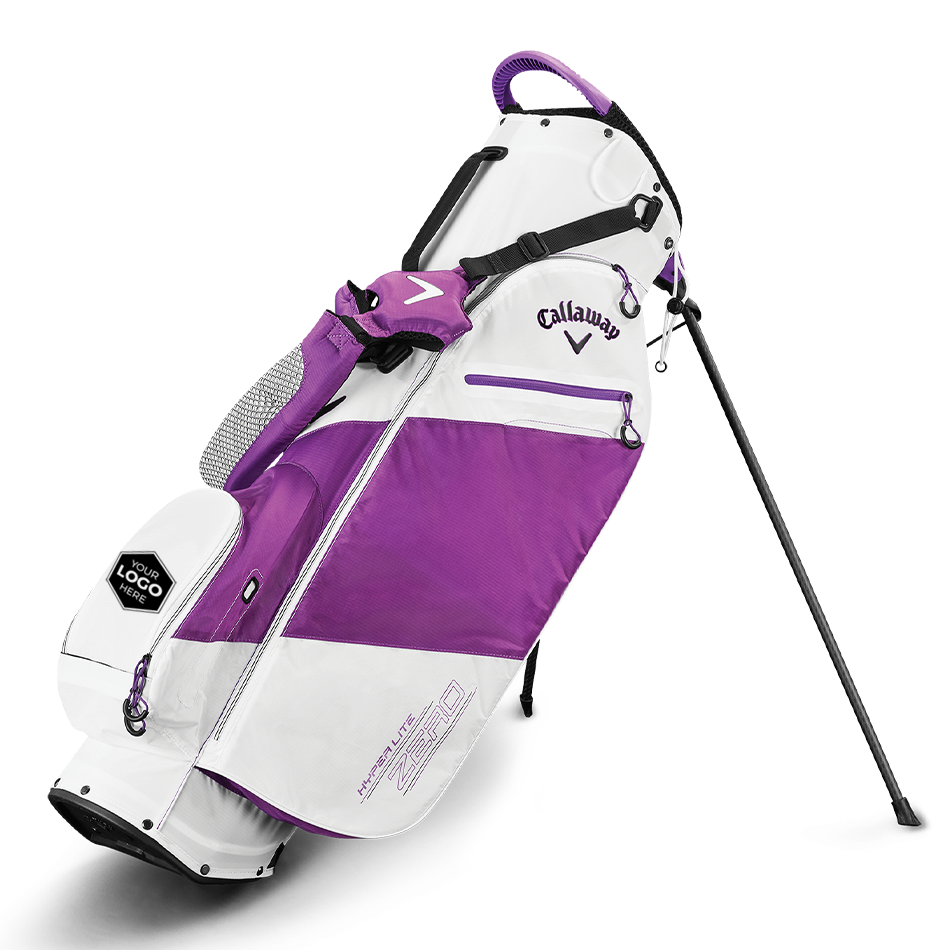 Hyper-Lite Zero Single Strap Logo Stand Bag - Featured