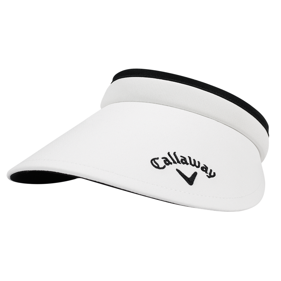 Women's Large Brim Clip Visor - Featured