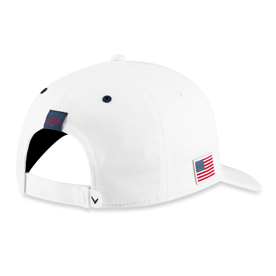Stars & Stripes Script High Crown Hat - View 2
