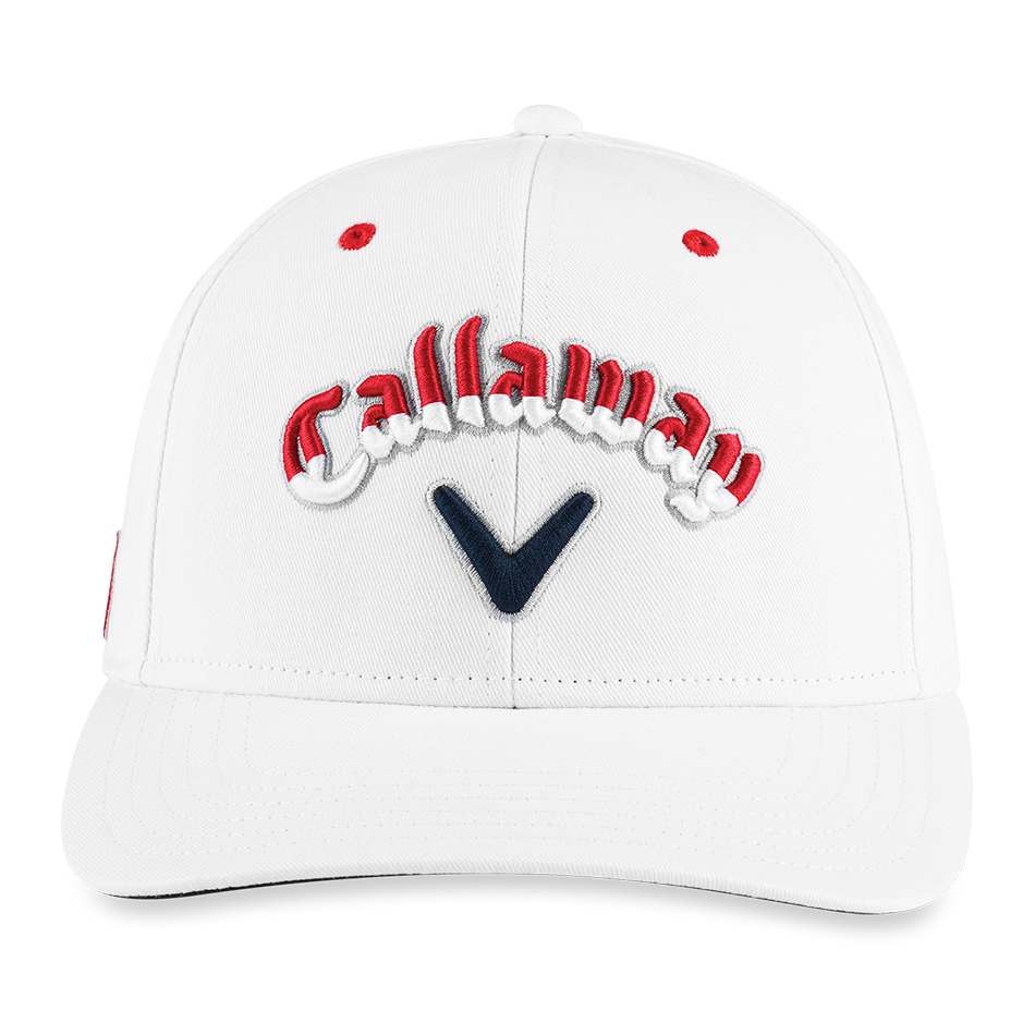 Stars & Stripes Script High Crown Hat - View 3