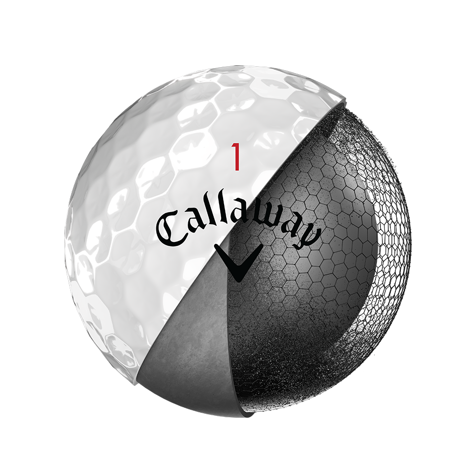 Chrome Soft X Golf Balls - View 3