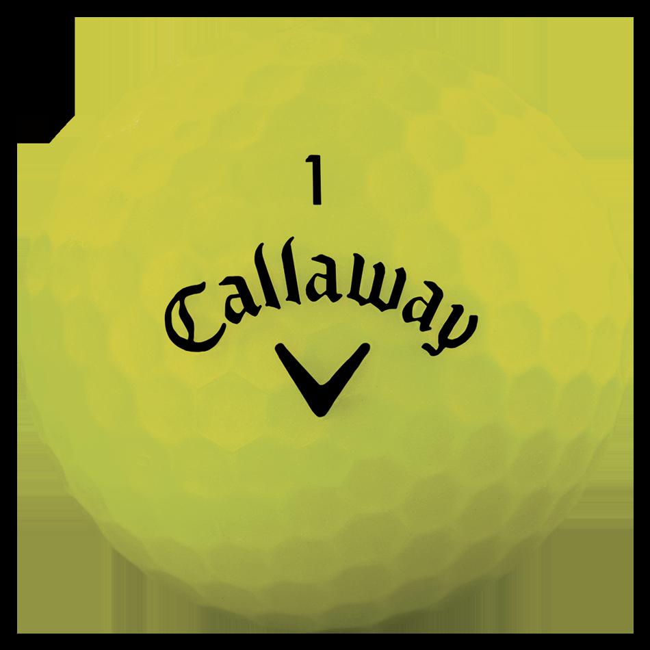 Superhot Bold Matte Yellow 15-Pack Golf Balls - View 3
