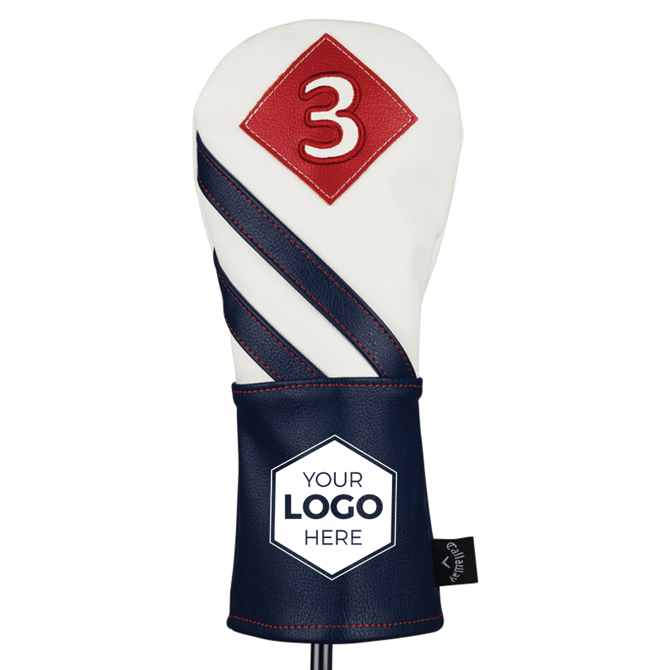 2018 Vintage Fairway Wood Logo Headcover - View 1