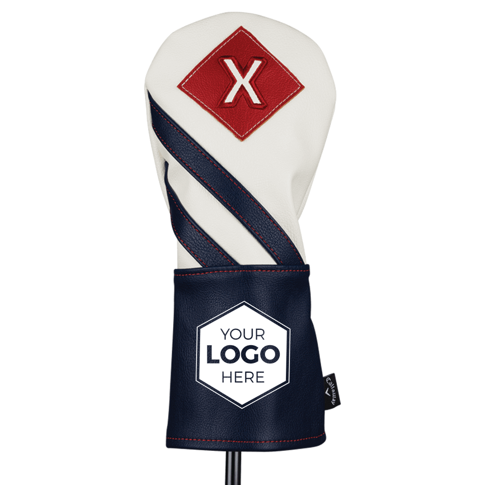 2018 Vintage Fairway Wood Logo Headcover - View 2