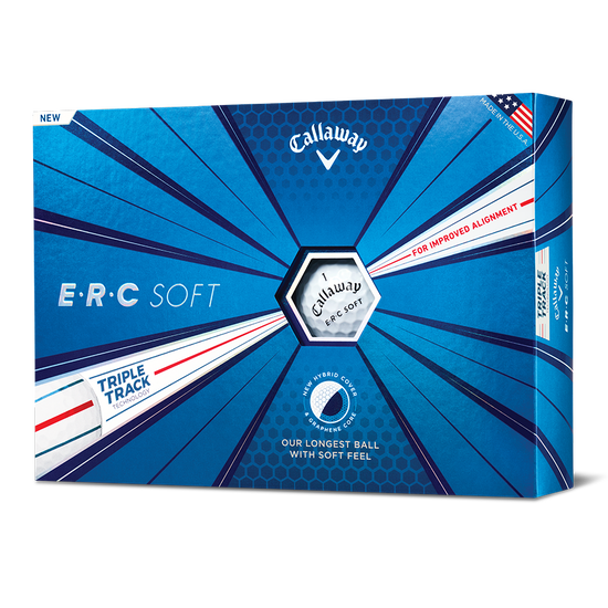 ERC Soft Logo Golf Balls