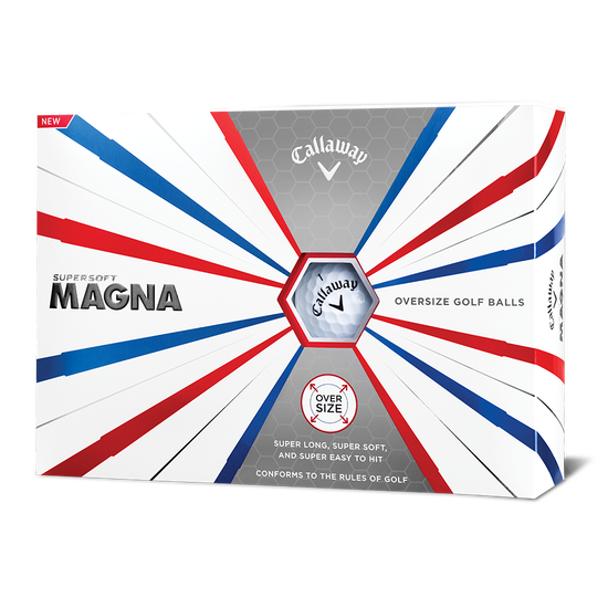 Supersoft Magna Logo Golf Balls