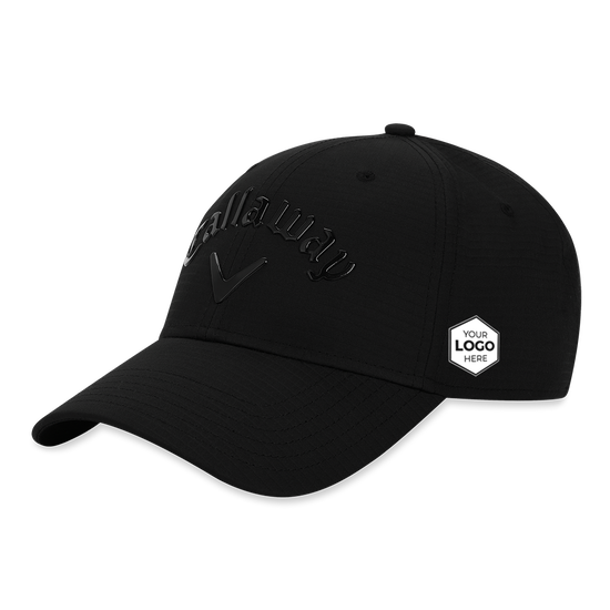 Liquid Metal Logo Cap