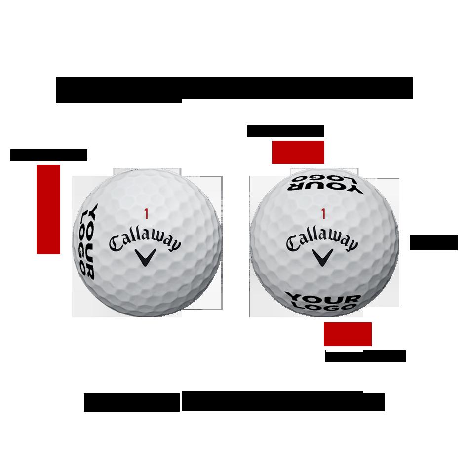 Warbird Logo Golf Balls - View 2