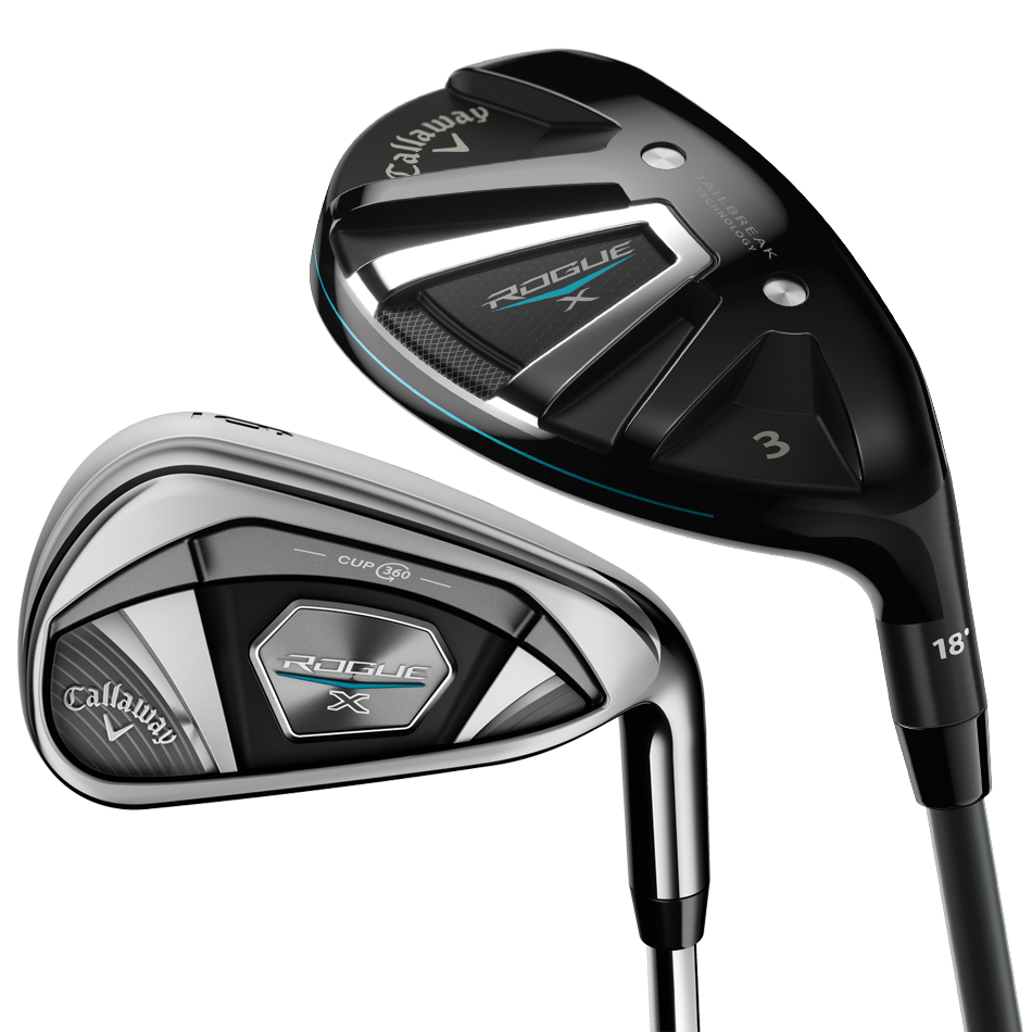 Rogue X Irons/Hybrids Combo Set - View 1