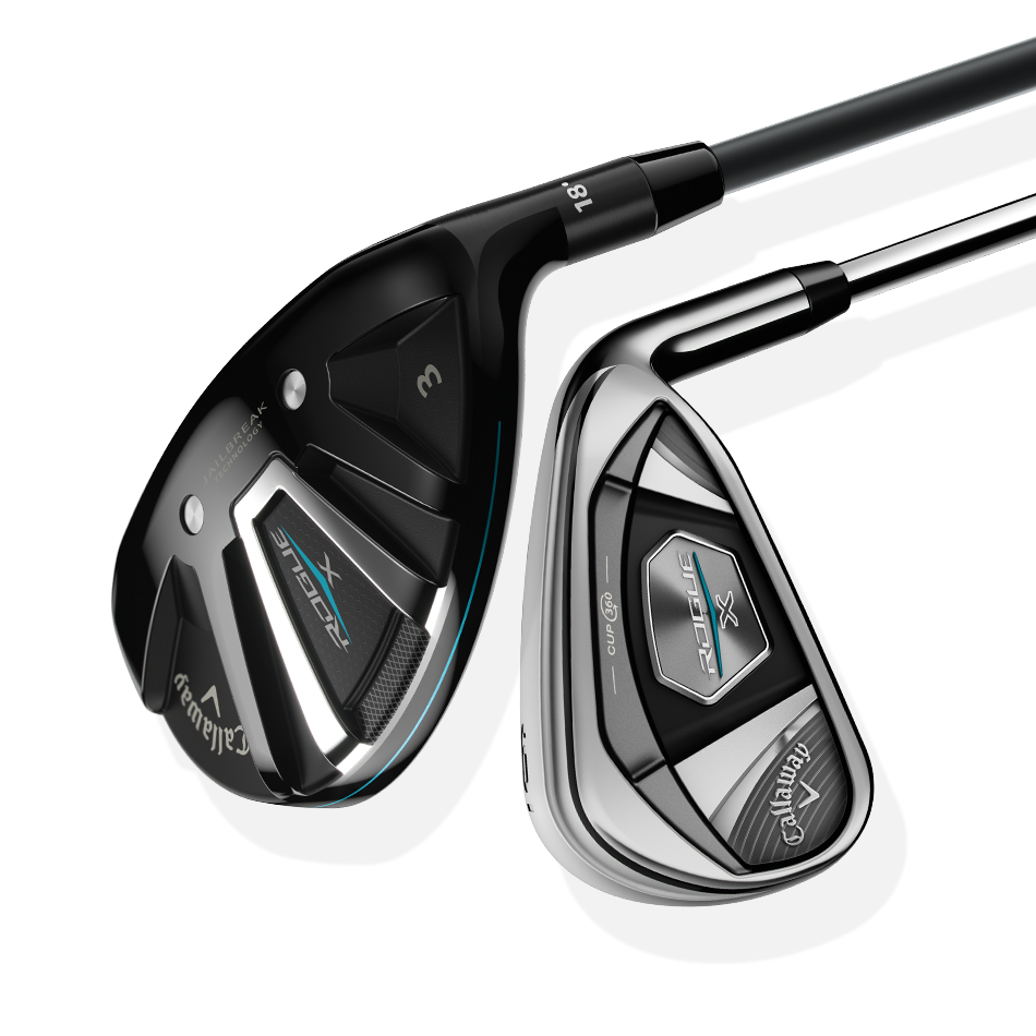 Rogue X Irons/Hybrids Combo Set - Featured