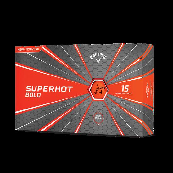 2018 Superhot Bold Matte Orange 15-Pack Golf Balls