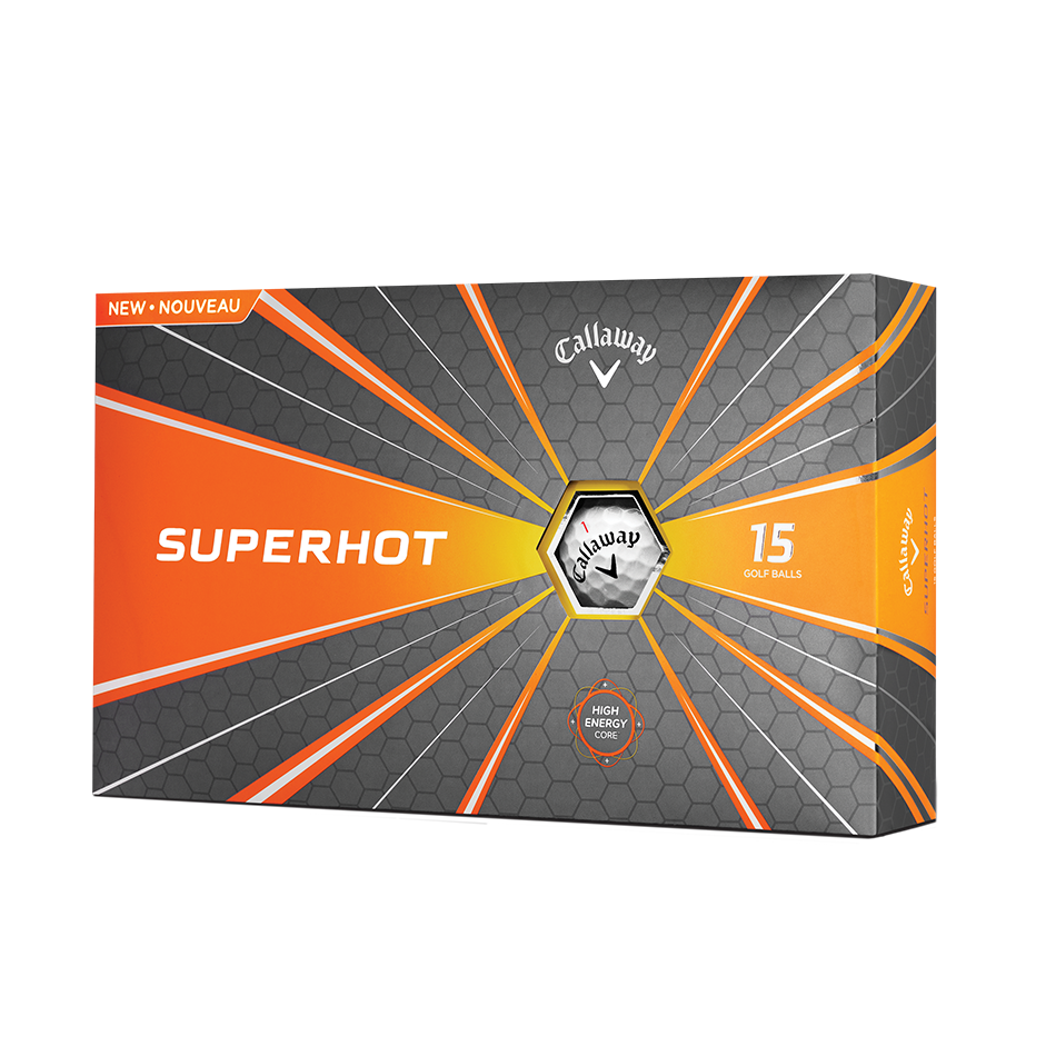 2018 Superhot 15-Pack Golf Balls - Featured