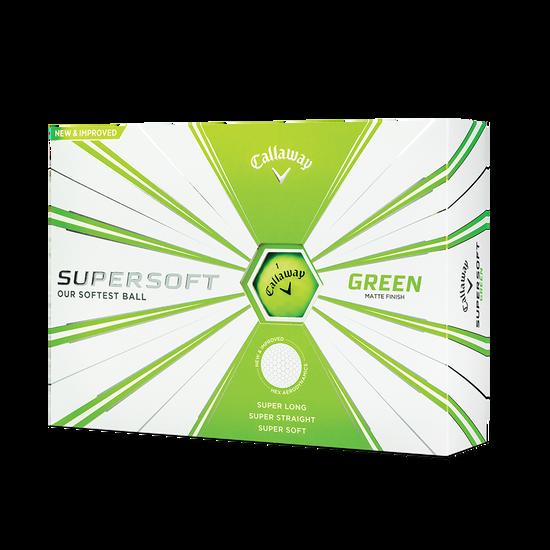 Callaway Supersoft Matte Green Golf Balls