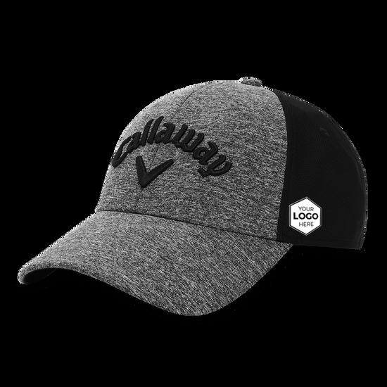 Women's Heathered Logo Cap