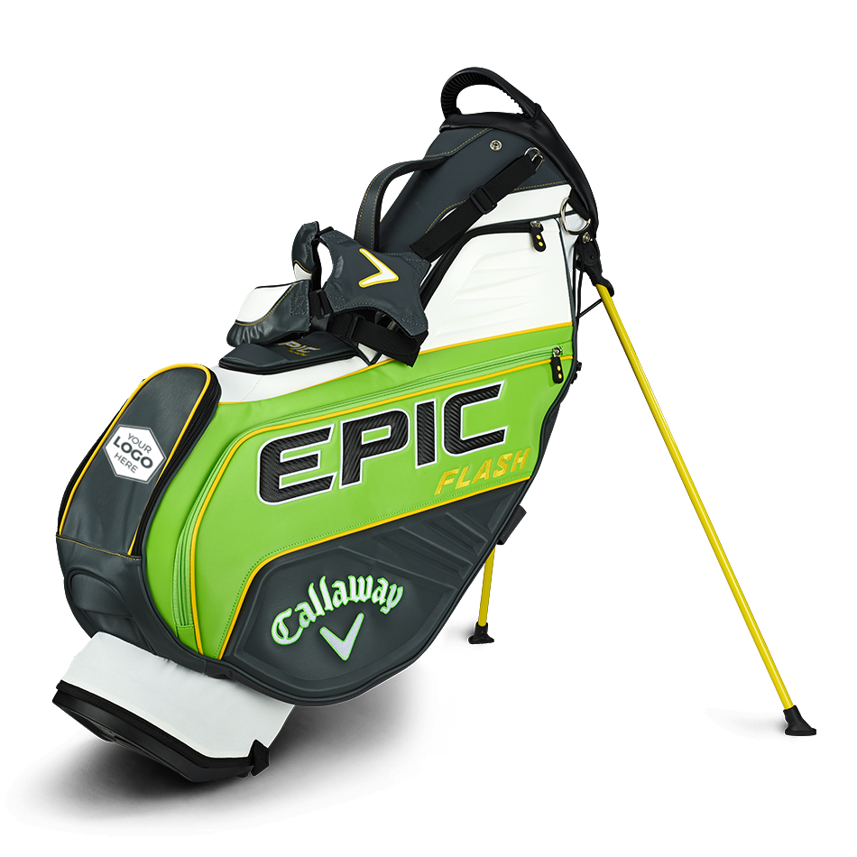 Epic Flash Staff Double Strap Logo Stand Bag - Featured