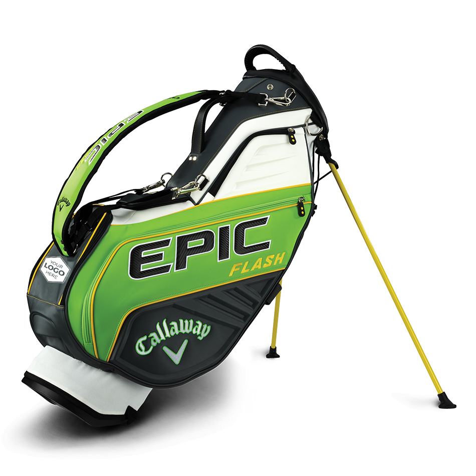 Epic Flash Staff Single Strap Logo Stand Bag - Featured